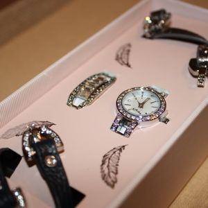 Convertible Watch + Bracelet Set